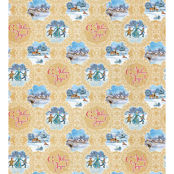 Крафт бумага Новогодний каток для сувенирной продукцииНовогодняя упаковочная бумага<br>Характеристики:<br><br>• размер листа: 100х70 см;<br>• плотность бумаги: 80 г/м2;<br>• масса: 60 г.<br><br>Красочная упаковочная бумага поможет красиво оформить подарок для взрослого или ребенка. Тематический новогодний принт гармонично подойдет для праздничного сюрприза.<br><br>Большие листы немелованной бумаги оформлены полноцветным декоративным рисунком. Каждый лист аккуратно свернут в рулончик, поэтому не имеет сгибов и заломов.<br><br>Одного листа будет достаточно для упаковки подарка среднего размера, для большего объема необходимо приобрести несколько листов одной расцветки или скомбинировать несколько видов одной цветовой гаммы.<br><br>Крафт бумагу «Новогодний каток» для сувенирной продукции, Magic Time можно купить в нашем интернет-магазине.<br><br>Ширина мм: 700<br>Глубина мм: 30<br>Высота мм: 30<br>Вес г: 60<br>Возраст от месяцев: 36<br>Возраст до месяцев: 2147483647<br>Пол: Унисекс<br>Возраст: Детский<br>SKU: 7317236