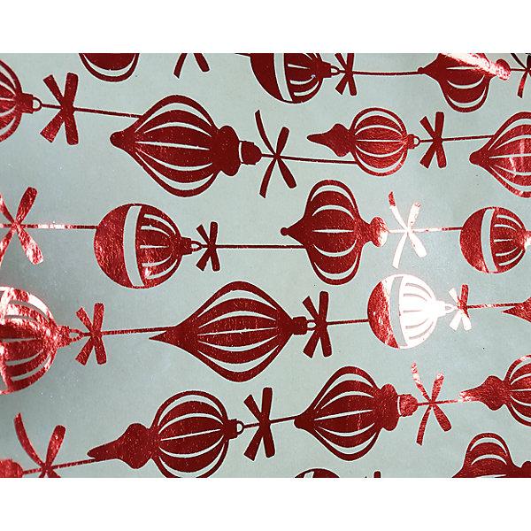 Крафт бумага Красные шары для сувенирной продукции в листахНовогодняя упаковочная бумага<br>Характеристики:<br><br>• размер листа: 100х70 см;<br>• плотность бумаги: 60 г/м2;<br>• масса: 49 г.<br><br>Красочная упаковочная бумага поможет красиво оформить подарок для взрослого или ребенка. Тематический новогодний принт гармонично подойдет для праздничного сюрприза.<br><br>Большие листы немелованной бумаги оформлены полноцветным декоративным рисунком. Каждый лист аккуратно свернут в рулончик, поэтому не имеет сгибов и заломов.<br><br>Одного листа будет достаточно для упаковки подарка среднего размера, для большего объема необходимо приобрести несколько листов одной расцветки или скомбинировать несколько видов одной цветовой гаммы.<br><br>Крафт бумага «Красные шары» для сувенирной продукции, Magic Time можно купить в нашем интернет-магазине.<br>Ширина мм: 700; Глубина мм: 30; Высота мм: 30; Вес г: 49; Возраст от месяцев: 36; Возраст до месяцев: 2147483647; Пол: Унисекс; Возраст: Детский; SKU: 7317256;