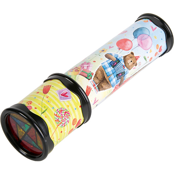 Игрушка детская - Калейдоскоп из плотного картона и полистирола с внутренними элементами из ЭВАКалейдоскопы<br>Характеристики:<br><br>• возраст: 3+;<br>• материал: картон, полистирол, ЭВА;<br>• размер игрушки: 20х5,6 см;<br>• масса: 119 г.<br><br>Замечательная игрушка порадует мальчиков и девочек. Калейдоскоп с мишками станет хорошим подарком к празднику.<br><br>Забавная игрушка очень простая в обращении – даже трехлетний малыш поймет принцип, по которому получаются великолепные узоры. Поворачивая основную часть калейдоскопа нужно смотреть в специальное отверстие, где друг друга сменяют красивые картинки.<br><br>Небольшой калейдоскоп удобно поместится в детских ладошках. Игрушку можно брать с собой на прогулку или в путешествие.<br><br>Игрушка детская «Калейдоскоп» из плотного картона и полистирола с внутренними элементами из ЭВА, Magic Time можно купить в нашем интернет-магазине.<br>Ширина мм: 60; Глубина мм: 60; Высота мм: 200; Вес г: 119; Возраст от месяцев: 36; Возраст до месяцев: 2147483647; Пол: Унисекс; Возраст: Детский; SKU: 7317260;
