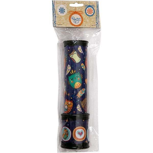 Игрушка детская - Калейдоскоп из плотного картона и полистирола с внутренними элементами из ЭВАКалейдоскопы<br>Характеристики:<br><br>• возраст: 3+;<br>• материал: картон, полистирол, ЭВА;<br>• размер игрушки: 20х5,6 см;<br>• масса: 119 г.<br><br>Замечательная игрушка порадует мальчиков и девочек. Калейдоскоп с совушками станет хорошим подарком к празднику.<br><br>Забавная игрушка очень простая в обращении – даже трехлетний малыш поймет принцип, по которому получаются великолепные узоры. Поворачивая основную часть калейдоскопа нужно смотреть в специальное отверстие, где друг друга сменяют красивые картинки.<br><br>Небольшой калейдоскоп удобно поместится в детских ладошках. Игрушку можно брать с собой на прогулку или в путешествие.<br><br>Игрушка детская «Калейдоскоп» из плотного картона и полистирола с внутренними элементами из ЭВА, Magic Time можно купить в нашем интернет-магазине.<br><br>Ширина мм: 60<br>Глубина мм: 60<br>Высота мм: 200<br>Вес г: 119<br>Возраст от месяцев: 36<br>Возраст до месяцев: 2147483647<br>Пол: Унисекс<br>Возраст: Детский<br>SKU: 7317264