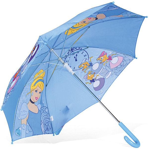 Зонт детский Принцесса Disney Золушка, DisneyЗонты детские<br>Характеристики:<br><br>• детский зонтик для девочек;<br>• автоматический зонт;<br>• размер стержня: 50 см;<br>• материал купола: полиэстер;<br>• материал ручки: пластик;<br>• материал спиц: металл;<br>• размер упаковки: 65,5х7,5х7 см;<br>• вес: 195 г.<br><br>Детский зонтик укроет девочку от дождя, сохранив сухой ее головку и одежку. Детский зонтик оформлен в стиле принцесс Диснея, купол зонта украшает изображение принцессы Золушки. <br><br>Зонт детский «Принцесса Золушка», Disney можно купить в нашем интернет-магазине.<br>Ширина мм: 655; Глубина мм: 75; Высота мм: 70; Вес г: 240; Возраст от месяцев: 36; Возраст до месяцев: 72; Пол: Женский; Возраст: Детский; SKU: 7318600;