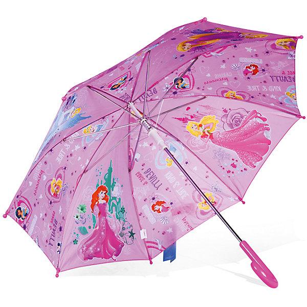 Зонт детский Принцесса Рапунцель, Золушка, Аврора и Ариэль, DisneyЗонты детские<br>Характеристики:<br><br>• детский зонтик для девочек;<br>• автоматический зонт;<br>• размер стержня: 50 см;<br>• материал купола: полиэстер;<br>• материал ручки: пластик;<br>• материал спиц: металл;<br>• размер упаковки: 65,5х7,5х7 см;<br>• вес: 195 г.<br><br>Детский зонтик укроет девочку от дождя, сохранив сухой ее головку и одежку. Детский зонтик оформлен в стиле принцесс Диснея, купол зонта украшают изображения принцесс Рапунцель, Золушки, Авроры и Ариэль. <br><br>Зонт детский «Принцесса Рапунцель, Золушка, Аврора и Ариэль», Disney можно купить в нашем интернет-магазине.<br><br>Ширина мм: 655<br>Глубина мм: 75<br>Высота мм: 70<br>Вес г: 240<br>Возраст от месяцев: 36<br>Возраст до месяцев: 72<br>Пол: Женский<br>Возраст: Детский<br>SKU: 7318601