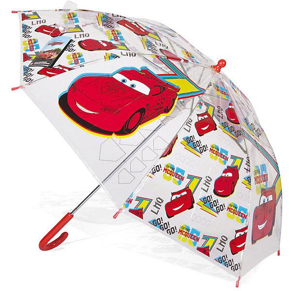 Зонт детский Тачки Молния Маккуин, DisneyЗонты детские<br>Характеристики:<br><br>• детский зонтик для мальчиков;<br>• автоматический зонт;<br>• размер стержня: 50 см;<br>• материал купола: термопластичный полиолефиновый эластомер;<br>• материал ручки: пластик;<br>• материал спиц: металл;<br>• размер упаковки: 65,5х7,5х7 см;<br>• вес: 195 г.<br><br>Детский зонтик укроет мальчика от дождя, сохранив сухой его голову и одежду. Детский зонтик оформлен в стиле мультипликаций Дисней, купол зонта украшают изображения героев Тачки. <br><br>Зонт детский Тачки «Молния Маккуин», Disney можно купить в нашем интернет-магазине.<br><br>Ширина мм: 655<br>Глубина мм: 75<br>Высота мм: 70<br>Вес г: 195<br>Возраст от месяцев: 36<br>Возраст до месяцев: 72<br>Пол: Мужской<br>Возраст: Детский<br>SKU: 7318602