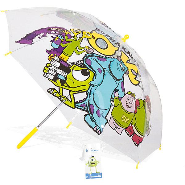 Зонт детский Университет Монстров Корпорация Монстров, DisneyЗонты детские<br>Характеристики:<br><br>• детский зонтик для мальчиков;<br>• автоматический зонт;<br>• размер стержня: 50 см;<br>• материал купола: термопластичный полиолефиновый эластомер;<br>• материал ручки: пластик;<br>• материал спиц: металл;<br>• размер упаковки: 65,5х7,5х7 см;<br>• вес: 195 г.<br><br>Детский зонтик укроет мальчика от дождя, сохранив сухой его голову и одежду. Детский зонтик оформлен в стиле мультипликаций Дисней, купол зонта украшают изображения героев Корпорация Монстров. <br><br>Зонт детский Университет Монстров «Корпорация Монстров», Disney можно купить в нашем интернет-магазине.<br>Ширина мм: 655; Глубина мм: 75; Высота мм: 70; Вес г: 195; Возраст от месяцев: 36; Возраст до месяцев: 72; Пол: Унисекс; Возраст: Детский; SKU: 7318603;