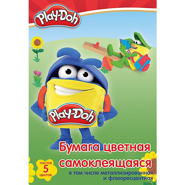 Самоклеещаяся цветная бумага Академия Групп Play-Doh, 10 листовЦветная бумага<br>Характеристики:<br><br>• цветная бумага для детского творчества;<br>• особенность бумаги: самоклейка;<br>• цветовая гамма: 10 цветов;<br>• количество в комплекте: 10 листов;<br>• размер: 20х29 см;<br>• тип обложки: с эффектом ВД лак;<br>• упаковка: папка.<br><br>Набор для детского творчества – набор цветной бумаги-самоклейки. Набор оформлен в стиле героев Play-Doh. В процессе игры развивается цветовосприятие, творческие способности малыша, фантазия и образное мышление. <br><br>Набор бумаги цветной для детского творчества самоклейка можно купить в нашем интернет-магазине.<br>Ширина мм: 290; Глубина мм: 200; Высота мм: 8; Вес г: 68; Возраст от месяцев: 36; Возраст до месяцев: 72; Пол: Унисекс; Возраст: Детский; SKU: 7319923;