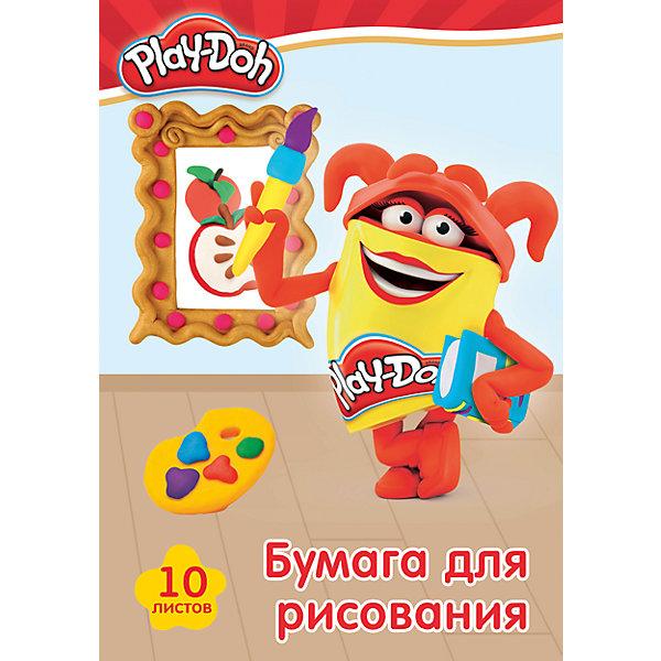 Бумага для рисования Академия Групп Play-Doh, 10 листовБумажная продукция<br>Характеристики:<br><br>• бумага для рисования;<br>• формат А4;<br>• плотность: PD11/2;<br>• цвет: белый;<br>• количество в комплекте: 10 листов;<br>• размер: 20х29 см;<br>• тип обложки: с эффектом ВД лак.<br><br>Бумага для рисования используется на уроках в школе, на занятиях в дополнительных кружках и образовательных центрах, для домашнего труда и творчества. Набор оформлен в стиле героев Play-Doh. В процессе игры развивается цветовосприятие, творческие способности малыша, фантазия и образное мышление. <br><br>Бумагу для рисования 10 л можно купить в нашем интернет-магазине.<br>Ширина мм: 290; Глубина мм: 200; Высота мм: 2; Вес г: 101; Возраст от месяцев: 36; Возраст до месяцев: 72; Пол: Унисекс; Возраст: Детский; SKU: 7319926;