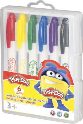 Академия групп Гелевые мелки Академия Групп Play-Doh , 6 цветов