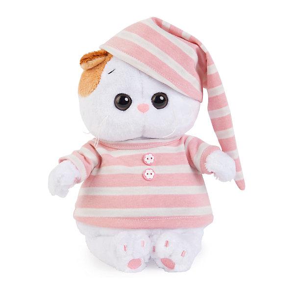 Купить Мягкая игрушка Budi Basa Кошка Ли-Ли Baby в полосатой пижаме, 20 см, Россия, Унисекс
