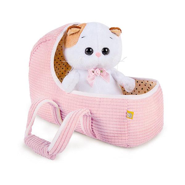 Мягкая игрушка Budi Basa Кошка Ли-Ли Baby в люльке, 20 см