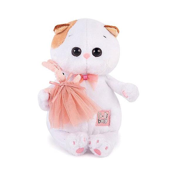 Мягкая игрушка Budi Basa Кошка Ли-Ли Baby с зайкой, 20 смМягкие игрушки-кошки<br>Характеристики товара:<br><br>• возраст: от 3 лет;<br>• материал: текстиль, искусственный мех;<br>• высота игрушки: 20 см;<br>• размер упаковки: 25х15х10 см;<br>• вес упаковки: 250 гр.;<br>• страна производитель: Россия.<br><br>Мягкая игрушка «Ли-Ли с зайкой» Budi Basa — очаровательная пушистая белоснежная кошечка с большими глазками и оранжевыми ушками. Ли-Ли держит в лапках маленького зайку.<br><br>Игрушка выполнена из качественного безопасного материала, настолько приятного и мягкого, что ребенок будет брать с собой котенка в кроватку и спать в обнимку.<br><br>Мягкую игрушку «Ли-Ли  с зайкой» Budi Basa можно приобрести в нашем интернет-магазине.<br>Ширина мм: 215; Глубина мм: 150; Высота мм: 110; Вес г: 250; Возраст от месяцев: 36; Возраст до месяцев: 2147483647; Пол: Унисекс; Возраст: Детский; SKU: 7319993;