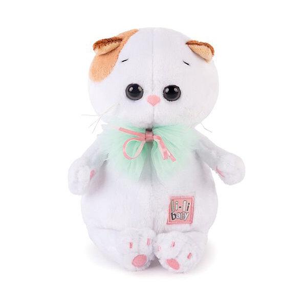 Мягкая игрушка Budi Basa Кошка Ли-Ли Baby с бантом, 20 смМягкие игрушки-кошки<br>Характеристики товара:<br><br>• возраст: от 3 лет;<br>• материал: текстиль, искусственный мех;<br>• высота игрушки: 24 см;<br>• размер упаковки: 25х15х10 см;<br>• вес упаковки: 250 гр.;<br>• страна производитель: Россия.<br><br>Мягкая игрушка «Ли-Ли с бантом» Budi Basa — очаровательная пушистая белоснежная кошечка с большими глазками и оранжевыми ушками. <br><br>Игрушка выполнена из качественного безопасного материала, настолько приятного и мягкого, что ребенок будет брать с собой котенка в кроватку и спать в обнимку.<br><br>Мягкую игрушку «Ли-Ли с бантом» Budi Basa можно приобрести в нашем интернет-магазине.<br><br>Ширина мм: 215<br>Глубина мм: 150<br>Высота мм: 110<br>Вес г: 250<br>Возраст от месяцев: 36<br>Возраст до месяцев: 2147483647<br>Пол: Унисекс<br>Возраст: Детский<br>SKU: 7319994