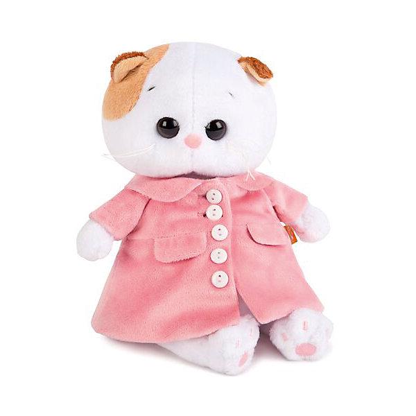 Мягкая игрушка Budi Basa Кошка Ли-Ли Baby в розовом пальто, 20 смМягкие игрушки-кошки<br>Характеристики товара:<br><br>• возраст: от 3 лет;<br>• материал: текстиль, искусственный мех;<br>• высота игрушки: 24 см;<br>• размер упаковки: 25х15х10 см;<br>• вес упаковки: 250 гр.;<br>• страна производитель: Россия.<br><br>Мягкая игрушка «Ли-Ли в розовом пальто» Budi Basa — очаровательная пушистая белоснежная кошечка с большими глазками и оранжевыми ушками. Ли-Ли одета в розовое пальто.<br><br>Игрушка выполнена из качественного безопасного материала, настолько приятного и мягкого, что ребенок будет брать с собой котенка в кроватку и спать в обнимку.<br><br>Мягкую игрушку «Ли-Ли в розовом пальто» Budi Basa можно приобрести в нашем интернет-магазине.<br><br>Ширина мм: 215<br>Глубина мм: 150<br>Высота мм: 110<br>Вес г: 250<br>Возраст от месяцев: 36<br>Возраст до месяцев: 2147483647<br>Пол: Унисекс<br>Возраст: Детский<br>SKU: 7319995