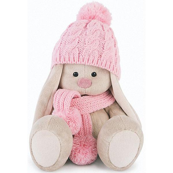 Мягкая игрушка Budi Basa Зайка Ми в розовой шапочке, 18 смМягкие игрушки животные<br>Характеристики товара:<br><br>• возраст: от 3 лет;<br>• материал: текстиль, искусственный мех;<br>• высота игрушки: 15 см;<br>• размер упаковки: 15х14х15 см;<br>• вес упаковки: 270 гр.;<br>• страна производитель: Россия.<br><br>Мягкая игрушка «Зайка Ми» в розовой шапочке и шарфе  — очаровательный пушистый зайчонок с длинными ушками. Зайка Ми одета в розовую шапочку и шарфик. <br><br>Игрушка выполнена из качественного безопасного материала, настолько приятного и мягкого, что ребенок будет брать с собой зайку в кроватку и спать в обнимку.<br><br>Мягкую игрушку «Зайка Ми»в розовой шапочке и шарфе можно купить в нашем интернет-магазине.<br><br>Ширина мм: 150<br>Глубина мм: 140<br>Высота мм: 150<br>Вес г: 270<br>Возраст от месяцев: 36<br>Возраст до месяцев: 2147483647<br>Пол: Унисекс<br>Возраст: Детский<br>SKU: 7320006