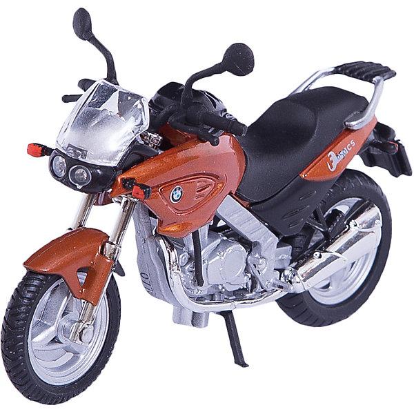Коллекционный мотоцикл Autotime BMW F650CS 1:18Машинки<br>Характеристики товара:<br><br>• возраст: от 3 лет;<br>• материал: пластик, металл;<br>• масштаб: 1:18;<br>• размер упаковки: 16х11х7 см;<br>• вес упаковки: 164 гр.;<br>• страна производитель: Китай.<br><br>Мотоцикл «BMW F650CS» Autogrand представляет собой уменьшенную копию мотоцикла. У него поворачивается переднее колесо. Выполнена игрушка из качественных прочных материалов.<br><br>Мотоцикл «BMW F650CS» Autogrand можно приобрести в нашем интернет-магазине.<br><br>Ширина мм: 160<br>Глубина мм: 110<br>Высота мм: 70<br>Вес г: 164<br>Возраст от месяцев: 36<br>Возраст до месяцев: 2147483647<br>Пол: Мужской<br>Возраст: Детский<br>SKU: 7320076