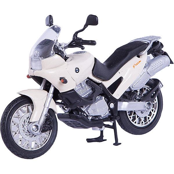 Коллекционный мотоцикл Autotime BMW F650ST 1:18Машинки<br>Характеристики товара:<br><br>• возраст: от 3 лет;<br>• материал: пластик, металл;<br>• масштаб: 1:18;<br>• размер упаковки: 16х11х7 см;<br>• вес упаковки: 163 гр.;<br>• страна производитель: Китай.<br><br>Мотоцикл «BMW F650ST» Autogrand представляет собой уменьшенную копию мотоцикла. У него поворачивается переднее колесо. Выполнена игрушка из качественных прочных материалов.<br><br>Мотоцикл «BMW F650ST» Autogrand можно приобрести в нашем интернет-магазине.<br>Ширина мм: 160; Глубина мм: 110; Высота мм: 70; Вес г: 163; Возраст от месяцев: 36; Возраст до месяцев: 2147483647; Пол: Мужской; Возраст: Детский; SKU: 7320077;