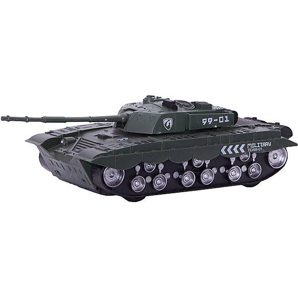 Игрушечный танк Battle Time Пустынный котВоенный транспорт<br>Характеристики товара:<br><br>• возраст: от 3 лет;<br>• материал: пластик;<br>• размер упаковки: 29,5х12,5х9 см;<br>• вес упаковки: 233 гр.;<br>• страна производитель: Китай.<br><br>Танк «Пустынный кот» Battle Time выглядит как настоящий танк и понравится любителям военной техники. Он позволит детям придумать разнообразные игры, устроить сражения и бои. Выполнен танк из качественного прочного пластика.<br><br>Танк «Пустынный кот» Battle Time можно приобрести в нашем интернет-магазине.<br>Ширина мм: 295; Глубина мм: 125; Высота мм: 90; Вес г: 233; Возраст от месяцев: 36; Возраст до месяцев: 2147483647; Пол: Мужской; Возраст: Детский; SKU: 7320101;