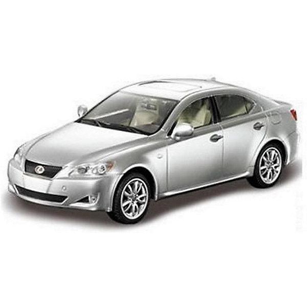 Радиоуправляемая машина Rastar Lexus IS 350 1:24, серебристаяРадиоуправляемые машины<br>Характеристики товара:<br><br>• серия: Lexus;<br>• возраст: от 3 лет;<br>• цвет: серебристый;<br>• масштаб: 1:24;<br>В комплекте:<br>• машина; <br>• пульт дистанционного управления;<br>• инструкция;<br>• наличие батареек: не входят в комплект;<br>• тип батареек: 5 х AA / LR6 1.5V (пальчиковые);<br>• дальность действия: 15-45 м.;<br>• из чего сделана игрушка (состав): высококачественная пластмасса, металл;<br>• размер упаковки: 26,5х13х11 см;<br>• размер машинки: 19,2х8.3х6 см.;<br>• вес: 0,45 кг.;<br>• частота: 27 MHz;<br>• максимальная скорость: 7 км/ч.;<br>• упаковка: картонная коробка с блистером;<br>• страна-производитель: КНР.<br><br>Радиоуправляемая модель автомобиля Lexus IS 350 от компании Rastar выполнена в масштабе 1:24 из металла с пластмассовыми деталями. Внешне модель практически полностью повторяет оригинальную версию. Работает машинка от батареек АА. Обращаем ваше внимание, что батарейки в комплект не входят. Машинка осуществляет движение: вперед-назад, вправо-влево. Конструктивные особенности: свет фар.<br><br>Машину LEXUS IS 350 1:24, на радио управлении, RASTAR можно купить в нашем интернет-магазине.<br>Ширина мм: 9999; Глубина мм: 9999; Высота мм: 9999; Вес г: 450; Возраст от месяцев: 36; Возраст до месяцев: 2147483647; Пол: Унисекс; Возраст: Детский; SKU: 7320811;