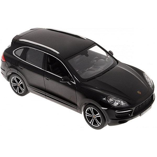 Радиоуправляемая машина Rastar Porsche Cayenne Turbo 1:14, чернаяРадиоуправляемые машины<br>Характеристики товара:<br><br>• серия: Porsche;<br>• возраст: от 3 лет;<br>• цвет: черный;<br>• масштаб: 1:14;<br>В комплекте:<br>• машина; <br>• пульт дистанционного управления;<br>• инструкция;<br>• наличие батареек: не входят в комплект;<br>• тип батареек: 5 х 1,5V AA (пальчиковые), 1 х 9V типа Крона;<br>• дальность действия: 45 м.;<br>• из чего сделана игрушка (состав): пластмасса, элементы из металла, резина;<br>• размер упаковки: 45,5х21,5х19,5 см;<br>• размер машинки: 34,6х13,9х12,2 см.;<br>• вес: 1,6 кг.;<br>• максимальная скорость: 7 км/ч.;<br>• упаковка: картонная коробка с блистером;<br>• страна-производитель: КНР.<br><br>Все дети хотят иметь в наборе своих игрушек ослепительные, невероятные и крутые автомобили на радиоуправлении. Тем более если это автомобиль известной марки с проработкой всех деталей, удивляющий приятным качеством и видом. <br><br>Одной из таких моделей является автомобиль на радиоуправлении Porsche Cayenne Turbo. Это точная копия настоящего авто в масштабе 1:14. Авто обладает неповторимым провокационным стилем и спортивным характером. А серьезные габариты придают реалистичность в управлении. Автомобиль отличается потрясающей маневренностью, динамикой и покладистостью. При движении у машины автоматически зажигаются передние/задние фары (в зависимости от направления движения).<br><br>Управлять таким высококлассным автомобилем — сплошное удовольствие! С машинкой можно играть одному и с друзьями, соревнуясь в скорости и маневренности!<br><br>Машину Porsche Cayenne Turbo 1:14 со светом, на радио управлении, RASTAR можно купить в нашем интернет-магазине.<br><br>Ширина мм: 9999<br>Глубина мм: 9999<br>Высота мм: 9999<br>Вес г: 1620<br>Возраст от месяцев: 36<br>Возраст до месяцев: 2147483647<br>Пол: Мужской<br>Возраст: Детский<br>SKU: 7320820