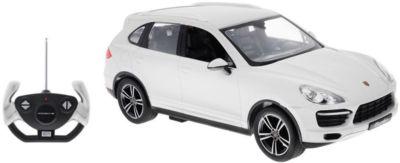 Радиоуправляемая машина Rastar Porsche Cayenne Turbo 1:14, белая