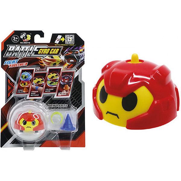 Машинка с гироскопом Gyro Flash Hero, краснаяМашинки<br>Характеристики товара:<br><br>• возраст: от 3 лет;<br>• цвет: красный;<br>В комплекте:<br>• машинка; <br>• аксессуары;<br>• из чего сделана игрушка (состав): пластик, металл, резина;<br>• упаковка: блистер на картоне;<br>• размер упаковки: 18х14х3 см;<br>• вес: 84 гр.<br><br>Забавная игрушка Hero от производителя Gyro Flash представляет собой оригинальную машинку с гироскопом, которую можно легко приводить в движение с помощью простых деталей, входящих в комплект. Пластиковая полусфера выглядит как голова воина в красном шлеме. Необычная машинка может ездить на колесиках и вращаться вокруг своей оси словно волчок. Если перевернуть фигурку, она превращается в уникальную юлу.<br><br>Машинку с гироскопом Gyro Flash Hero, можно купить в нашем интернет-магазине.<br><br>Ширина мм: 180<br>Глубина мм: 140<br>Высота мм: 30<br>Вес г: 83<br>Возраст от месяцев: 36<br>Возраст до месяцев: 2147483647<br>Пол: Мужской<br>Возраст: Детский<br>SKU: 7321049