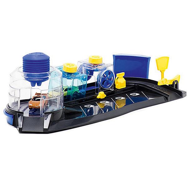 Автомойка Autotime Color twisters  Color wash с 2-мя машинкамиПарковки и гаражи<br>Характеристики:<br><br>• возраст: от 3 лет;<br>• тип игрушки: легковой транспорт;<br>• особенности: машинка меняет цвет в воде;<br>• материал: пластик, металл;<br>• размер: 45,8х27,3х6,3 см;<br>• вес: 800 гр;<br>• страна бренда: США;<br>• страна производитель: Китай;<br>• тип упаковки: картон;<br>• бренд: Autogrand.<br><br>Игровой набор от бренда Autogrand «COLOR TWISTERS COLOR WASH-2» с автомойкой состоит из сборной автомойки и набора мшинок, которым можно устроить тотальное водное преображение. Это связанно с тем, что корпус машинок имеет свойство менять цвет и дизайн в зависимости от температуры воды, в которую машинки попадают. <br><br>COLOR TWISTERS - абсолютно новое направление в игрушках. Играть просто:<br>нужно опустить машинку в холодную воду (температура воды влияет на<br>эффективность процесса изменения цвета). При соприкосновении с холодной<br>водой корпус машинки поменяет цвет. Если вытащить машинку из холодной<br>воды, то при комнатной температуре корпус машинки постепенно начнёт<br>менять цвет, в итоге станет такого же цвета. как до погружения в<br>холодную воду. Вернуть машинке первоначальный цвет также можно, погрузив<br>машинку в горячую воду. Машинка может частичн менять цвет при попадании<br>воды не на весь корпус.<br><br>Все части трека и сами машинки сделаны из безопасных материалов. Так же красители, которыми окрашены все части набора являются гипоаллергенными и не навредят здоровью ребенка. Игрушка прошла все необходимые проверки и получили все сертификаты качества.<br><br>Игровой набор от бренда Autogrand «COLOR TWISTERS COLOR WASH-2» можно купить в нашем интернет-магазине.<br>Ширина мм: 457; Глубина мм: 273; Высота мм: 63; Вес г: 917; Возраст от месяцев: 36; Возраст до месяцев: 2147483647; Пол: Мужской; Возраст: Детский; SKU: 7321054;