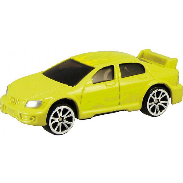 Металлическая машинка Autotime Color Twisters Water Chameleon SedanМашинки<br>Характеристики:<br><br>• возраст: от 3 лет;<br>• тип игрушки: легковой транспорт;<br>• особенности: машинка меняет цвет в воде;<br>• материал: пластик, металл;<br>• размер: 12,7х17,8х3,8 см;<br>• страна бренда: США;<br>• страна производитель: Китай;<br>• тип упаковки: блистер на картоне;<br>• бренд: Autogrand.<br><br>Машина от бренда Autogrand «COLOR TWISTERS WATER CHAMELEON SEDAN» это новое поколение машинок. Это связанно с тем, что корпус машинок имеет свойство менять цвет и дизайн в зависимости от температуры воды, в которую машинки попадают. Изначально седан яркого желтого цвета. <br><br>Цвет автомобиля меняется при изменении температуры. Можно опустить машину в холодную воду, и она моментально поменяет свой цвет. При комнатной температуре она постепенно будет возвращаться в свой цвет. Чтобы моментально вернуть первоначальный вид автомобиля, достаточно просто опустить его в горячую воду. Если холодная вода попадает не на весь корпус, а частично, цвет будут менять лишь те участки, которые контактировали с водой. Машина изготовлена из литого металла и пластмассы.<br><br>Машинка сделана из безопасных материалов. Так же красители, которыми окрашены все части автомобиля являются гипоаллергенными и не навредят здоровью ребенка. Игрушка прошла все необходимые проверки и получили все сертификаты качества.<br><br>Машину от бренда Autogrand «COLOR TWISTERS WATER CHAMELEON SEDAN» можно купить в нашем интернет-магазине.<br>Ширина мм: 127; Глубина мм: 178; Высота мм: 38; Вес г: 66; Возраст от месяцев: 36; Возраст до месяцев: 2147483647; Пол: Мужской; Возраст: Детский; SKU: 7321055;
