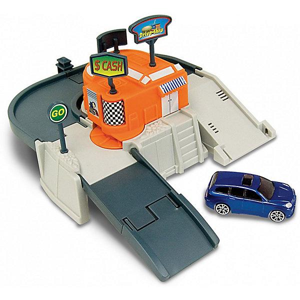 Игровой набор Autotime Megapolis Автокафе с машинойПарковки и гаражи<br>Характеристики:<br><br>• возраст: от 3 лет;<br>• тип игрушки:набор;<br>• материал: пластик, металл;<br>• размер: 15,5х21,6х6,4 см;<br>• вес: 371 гр;<br>• страна бренда: США;<br>• страна производитель: Китай;<br>• тип упаковки: коробка с окошком;<br>• бренд: Autogrand.<br><br>Набор транспортный Autogrand «MEGAPOLIS» автокафе с маш. 1:60 включает в себя здание из пластика и машинку в масштабе 1:60. Это новое поколение машинок, которые пришлись по вкусу мальчикам от трех лет и старше. С таким набором ребенок сможет разыгрывать увлекательные и захватывающие сюжеты. <br><br>Машина изготовлена из литого металла и пластмассы. Машинка сделана из безопасных материалов, разрешенных для детей. Так же красители, которыми окрашены все части автомобиля являются гипоаллергенными и не навредят здоровью ребенка. Игрушка прошла все необходимые проверки и получили все сертификаты качества.<br><br>Набор транспортный Autogrand «MEGAPOLIS» автокафес маш. 1:60 можно купить в нашем интернет-магазине.<br>Ширина мм: 155; Глубина мм: 216; Высота мм: 64; Вес г: 371; Возраст от месяцев: 36; Возраст до месяцев: 2147483647; Пол: Мужской; Возраст: Детский; SKU: 7321066;