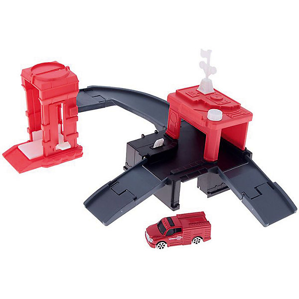 Игровой набор Autotime Megapolis Пожарная часть с машинойПарковки и гаражи<br>Характеристики:<br><br>• возраст: от 3 лет;<br>• тип игрушки:набор;<br>• материал: пластик, металл;<br>• размер: 15,5х21,6х6,4 см;<br>• вес: 476 гр;<br>• страна бренда: США;<br>• страна производитель: Китай;<br>• тип упаковки: коробка с окошком;<br>• бренд: Autogrand.<br><br>Набор транспортный Autogrand «MEGAPOLIS» пожарная с маш. 1:60 включает в себя здание из пластика и машинку в масштабе 1:60. Это новое поколение машинок, которые пришлись по вкусу мальчикам от трех лет и старше. С таким набором ребенок сможет разыгрывать увлекательные и захватывающие сюжеты. <br><br>Машина изготовлена из литого металла и пластмассы. Машинка сделана из безопасных материалов, разрешенных для детей. Так же красители, которыми окрашены все части автомобиля являются гипоаллергенными и не навредят здоровью ребенка. Игрушка прошла все необходимые проверки и получили все сертификаты качества.<br><br>Набор транспортный Autogrand «MEGAPOLIS» пожарная с маш. 1:60 можно купить в нашем интернет-магазине.<br><br>Ширина мм: 155<br>Глубина мм: 216<br>Высота мм: 64<br>Вес г: 476<br>Возраст от месяцев: 36<br>Возраст до месяцев: 2147483647<br>Пол: Мужской<br>Возраст: Детский<br>SKU: 7321068