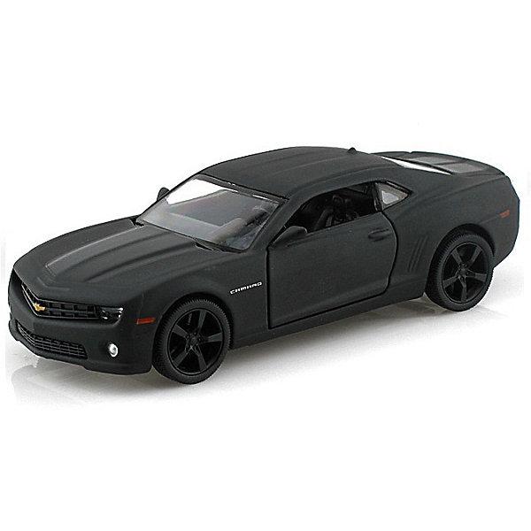 Коллекционная машинка Autotime Black Edition-5 Chevrolet Camaro ImperialМашинки<br>Характеристики:<br><br>• возраст: от 3 лет;<br>• тип игрушки: легковой транспорт;<br>• вес: 192 гр;<br>• цвет: серый матовый;<br>• материал: пластик, металл;<br>• размер: 16,5х7х7,5 см;<br>• страна бренда: США;<br>• страна производитель: Китай;<br>• тип упаковки: картон с блистерной вставкой;<br>• бренд: Autogrand.<br><br>Машина от бренда Autogrand «CHEVROLET CAMARO Imperial Black Edition 5» это новое поколение машинок. Полная детализация и максимальная приближенность к оригинальной модели делают эту машинку коллекционной игрушкой.<br><br>Данная игрушка представляет собой уменьшенную копию автомобиля марки CHEVROLET. Автомобиль выполнен в сером матовом цвете, поэтому сразу же привлекает взгляд. Машина представляет собой полноценный двухдверный автомобиль. Игрушка высоко детализирована и тщательно продумана. <br><br>Салон автомобиля хорошо просматривается. Благодаря наличию металлических элементов, машинка является более прочной и устойчивой к ударам. Машина оборудована инерционным механизмом, благодаря которому она может самостоятельно ездить по прямой траектории. Достаточно немного оттянуть автомобиль назад, а затем его отпустить. <br><br>Машинка сделана из безопасных материалов. Так же красители, которыми окрашены все части автомобиля являются гипоаллергенными и не навредят здоровью ребенка. Игрушка прошла все необходимые проверки и получили все сертификаты качества.<br><br>Машину от бренда Autogrand «CHEVROLET CAMARO Imperial Black Edition 5» можно купить в нашем интернет-магазине.<br>Ширина мм: 165; Глубина мм: 70; Высота мм: 75; Вес г: 192; Возраст от месяцев: 36; Возраст до месяцев: 2147483647; Пол: Мужской; Возраст: Детский; SKU: 7321078;