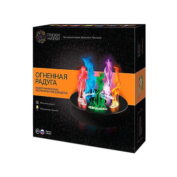 Набор для опытов по химии Трюки науки Огненная радуга