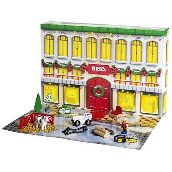 Подарочный набор Brio Рождественский календарьЖелезные дороги<br>Характеристики:<br><br>• конструктор для детей;<br>• рождественская тематика;<br>• в комплекте 25 деталей, Санта Клаус, подарки, лошадка, аксессуары;<br>• материал: пластик; <br>• размер упаковки: 44,5х29,5х8 см;<br>• вес: 958 г.<br><br>Игровой набор Brio позволяет создать собственную рождественскую сказку. Ребенок использует детали конструктора, сооружает домик и обыгрывает ситуации ожидания Рождества, процесс дарения и встречу с самим Санта Клаусом. В процессе игры развивается фантазия, воображение, творческие способности. <br><br>Подарочный игровой набор Brio Рождественский календарь можно купить в нашем интернет-магазине.<br><br>Ширина мм: 445<br>Глубина мм: 295<br>Высота мм: 80<br>Вес г: 958<br>Возраст от месяцев: 36<br>Возраст до месяцев: 2147483647<br>Пол: Унисекс<br>Возраст: Детский<br>SKU: 7321846
