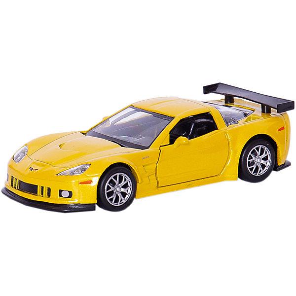 Коллекционная машинка RMZ City Chevrolet Corvette C6-R 1:32, желтый металликМашинки<br>Характеристики:<br><br>• возраст: от 3 лет;<br>• тип игрушки: легковой транспорт;<br>• вес: 180 гр;<br>• масштаб: 1:32;<br>• цвет: желтый;<br>• особенности: инерционная;<br>• материал: пластик, металл;<br>• размер: 16,5х7,5х7 см;<br>• тип упаковки: коробка с окошком;<br>• бренд: RMZ City<br><br>Машина металлическая RMZ City 1:32 Chevrolet Corvette C6.R  станет отличным подарком для мальчиков от трех лет и старше. Такой набор включает в себя машинку цвета желтый металлик.  Упаковка сделана с окошком и подходит в качестве подарочной.<br><br>Особенность игрушки состоит в том, что машинка инерционная. Коллекционные машинки порадуют любителей автогонок, ведь из них можно собрать целый автопарк. Машина отлично развивает скорость на гладкой поверхности, если ее подтолкнуть, и в точности повторяет внешний вид настоящего автомобиля. <br><br>Машинка сделана из безопасных материалов. Так же красители, которыми окрашены все части автомобиля являются гипоаллергенными и не навредят здоровью ребенка. Игрушка прошла все необходимые проверки и получили все сертификаты качества.<br><br>Машину металлическую RMZ City 1:32 Chevrolet Corvette C6.R  можно купить в нашем интернет-магазине.<br>Ширина мм: 165; Глубина мм: 70; Высота мм: 75; Вес г: 180; Возраст от месяцев: 36; Возраст до месяцев: 120; Пол: Мужской; Возраст: Детский; SKU: 7322646;