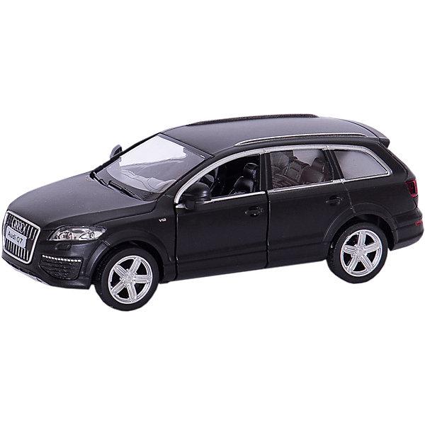 Металлическая машинка RMZ City Audi Q7 V12 1:32, серый матовыйМашинки<br>Характеристики:<br><br>• возраст: от 3 лет;<br>• тип игрушки: легковой транспорт;<br>• вес: 119 гр;<br>• масштаб: 1:32;<br>• цвет: серый;<br>• особенности: инерционная;<br>• материал: пластик, металл;<br>• размер: 16,5х7,5х7 см;<br>• тип упаковки: коробка с окошком;<br>• бренд: RMZ City<br><br>Машина металлическая RMZ City 1:32 Audi Q7 V12 станет отличным подарком для мальчиков от трех лет и старше. Такой набор включает в себя машинку серого матового цвета.  Упаковка сделана с окошком и подходит в качестве подарочной.<br><br>Особенность игрушки состоит в том, что машинка инерционная. Коллекционные машинки порадуют любителей автогонок, ведь из них можно собрать целый автопарк. Машина отлично развивает скорость на гладкой поверхности, если ее подтолкнуть, и в точности повторяет внешний вид настоящего автомобиля. <br><br>Машинка сделана из безопасных материалов. Так же красители, которыми окрашены все части автомобиля являются гипоаллергенными и не навредят здоровью ребенка. Игрушка прошла все необходимые проверки и получили все сертификаты качества.<br><br>Машину металлическую RMZ City 1:32 Audi Q7 V12 можно купить в нашем интернет-магазине.<br>Ширина мм: 165; Глубина мм: 75; Высота мм: 70; Вес г: 119; Возраст от месяцев: 36; Возраст до месяцев: 120; Пол: Мужской; Возраст: Детский; SKU: 7322655;