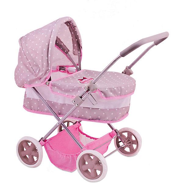 Классическая колсяка Dimian Bambolina BoutiqueТранспорт и коляски для кукол<br>Характеристики:<br><br>• возраст: от 3 лет;<br>• тип игрушки: коляски для кукол;<br>• вес: 2,2 кг;<br>• цвет: розовый, белый;<br>• материал: текстиль, металл;<br>• размер: 34,5х7х56 см;<br>• тип упаковки: картонная коробка;<br>• бренд: Dimian.<br><br>Классическая коляска для куклы BAMBOLINA BOUTIQUE от бренда Dimian станет отличным подарком для девочки от трех лет и старше. С такой игрушкой ребенок сможет разнообразить сюжеты игор, при этом такую коляску можно использовать как на улице, так и дома.<br><br>Коляска на четырёх колесах с устойчивым ходом. Игрушка выглядит очень реалистично. Высота коляски – 60 см., а на удобных ручках есть противоскользящее покрытие. Так же у коляски есть съемный защитный тент. Внизу коляски есть корзина, в которую можно поместить другие игрушки<br>Коляска выполнена из качественного металла и текстиля, у игрушки есть соответствующие сертификаты качества. Они подтверждают, что изделие гипоаллергенное прошло все необходимые проверки на соответствие стандартам качества.<br><br>Классическую коляску для куклы BAMBOLINA BOUTIQUE можно купить в нашем интернет-магазине.<br><br>Ширина мм: 345<br>Глубина мм: 70<br>Высота мм: 560<br>Вес г: 2200<br>Возраст от месяцев: 36<br>Возраст до месяцев: 120<br>Пол: Женский<br>Возраст: Детский<br>SKU: 7322667