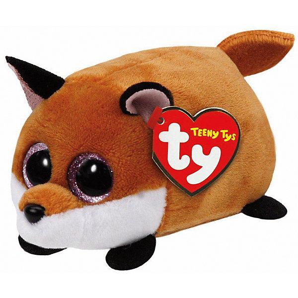 Мягкая игрушка Ty Inc Teeny Tys Лисенок Finley, 10 смМягкие игрушки животные<br>Характеристики:<br><br>• возраст: от 3 лет;<br>• тип игрушки: мягкие игрушки;<br>• высота: 11 см;<br>• материал: плюш, наполнитель, пластик;<br>• тип упаковки: ярлык;<br>• бренд: Ty.<br><br>Лисенок по имени Finley из серии «Teeny Tys» от бренда Ty станет отличным подарком для ребенка от трех лет и старше. Это очаровательная и миниатюрная мягкая игрушка рыжего цвета с большими добрыми глазками, маленькими лапками, забавными острыми ушками и хвостиком. Лисенок по имени Finley сразу завоюет симпатию крохи, и они обязательно подружатся.<br><br>Лисенок входит в серию игрушек «Teeny Tys», которая широко распространена по всему миру и хорошо известна благодаря запоминающимся большим глазам зверюшек, являющихся представителями данной коллекции, а также их небольшому размеру, позволяющему разместить игрушку на ладони одной руки.<br><br>Игрушка изготовлена из качественных, нетоксичных материалов, абсолютно безопасных для здоровья малыша. Вместе с такой игрушкой у ребенка будет развиваться фантазия, аккуратность и чувство ответственности. <br><br>Лисенок по имени Finley из серии «Teeny Tys» от бренда Ty можно купить в нашем интернет-магазине.<br><br>Ширина мм: 9999<br>Глубина мм: 9999<br>Высота мм: 9999<br>Вес г: 9999<br>Возраст от месяцев: 36<br>Возраст до месяцев: 120<br>Пол: Унисекс<br>Возраст: Детский<br>SKU: 7322679