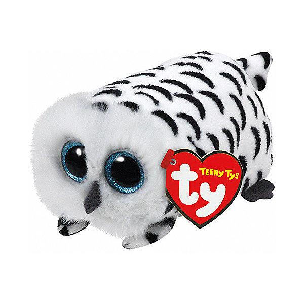 Мягкая игрушка Ty Inc Teeny Tys Совенок Nellie, 10 смМягкие игрушки животные<br>Характеристики:<br><br>• возраст: от 3 лет;<br>• тип игрушки: мягкие игрушки;<br>• высота: 11 см;<br>• материал: плюш, наполнитель, пластик;<br>• тип упаковки: ярлык;<br>• бренд: Ty.<br><br>Совенок по имени Nellie из серии «Teeny Tys» от бренда Ty станет отличным подарком для ребенка от трех лет и старше. Это очаровательная и миниатюрная мягкая игрушка бело-черного цвета с большими добрыми глазками, маленькими крылышками, забавными ушками и хвостиком. Совенок по имени Nellie сразу завоюет симпатию крохи, и они обязательно подружатся.<br><br>Совенок входит в серию игрушек «Teeny Tys», которая широко распространена по всему миру и хорошо известна благодаря запоминающимся большим глазам зверюшек, являющихся представителями данной коллекции, а также их небольшому размеру, позволяющему разместить игрушку на ладони одной руки.<br><br>Игрушка изготовлена из качественных, нетоксичных материалов, абсолютно безопасных для здоровья малыша. Вместе с такой игрушкой у ребенка будет развиваться фантазия, аккуратность и чувство ответственности.<br><br>Совенка по имени Nellie из серии «Teeny Tys» от бренда Ty можно купить в нашем интернет-магазине.<br><br>Ширина мм: 9999<br>Глубина мм: 9999<br>Высота мм: 9999<br>Вес г: 9999<br>Возраст от месяцев: 36<br>Возраст до месяцев: 120<br>Пол: Унисекс<br>Возраст: Детский<br>SKU: 7322681