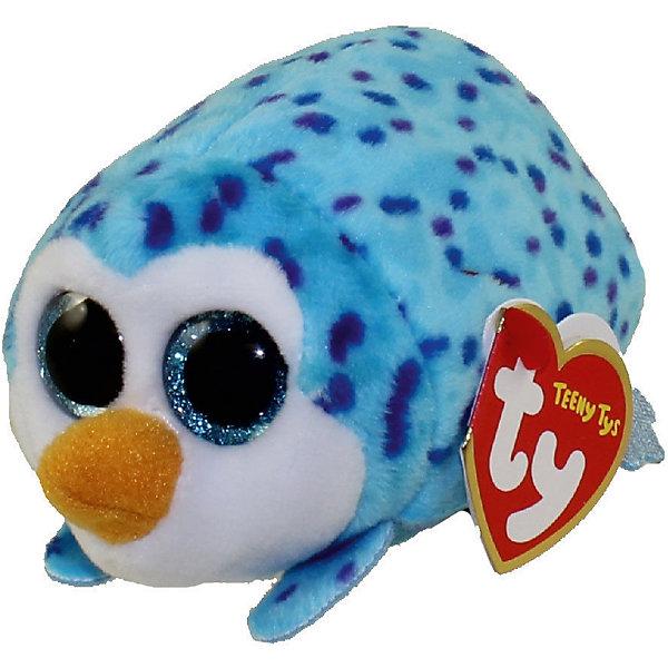 Мягкая игрушка Ty Inc Teeny Tys Пингвин Gus, 10 смМягкие игрушки животные<br>Характеристики:<br><br>• возраст: от 3 лет;<br>• тип игрушки: мягкие игрушки;<br>• высота: 11 см;<br>• материал: плюш, наполнитель, пластик;<br>• тип упаковки: ярлык;<br>• бренд: Ty.<br><br>Пингвин по имени GUS из серии «Teeny Tys» от бренда Ty станет отличным подарком для ребенка от трех лет и старше. Это очаровательная и миниатюрная мягкая игрушка голубого цвета с большими добрыми глазками, маленькими крылышками, забавными лапками и хвостиком. Пингвин по имени GUS сразу завоюет симпатию крохи, и они обязательно подружатся.<br><br>Пингвин входит в серию игрушек «Teeny Tys», которая широко распространена по всему миру и хорошо известна благодаря запоминающимся большим глазам зверюшек, являющихся представителями данной коллекции, а также их небольшому размеру, позволяющему разместить игрушку на ладони одной руки.<br><br>Игрушка изготовлена из качественных, нетоксичных материалов, абсолютно безопасных для здоровья малыша. Вместе с такой игрушкой у ребенка будет развиваться фантазия, аккуратность и чувство ответственности. <br><br>Пингвина по имени GUS из серии «Teeny Tys» от бренда Ty можно купить в нашем интернет-магазине.<br>Ширина мм: 9999; Глубина мм: 9999; Высота мм: 9999; Вес г: 9999; Возраст от месяцев: 36; Возраст до месяцев: 120; Пол: Унисекс; Возраст: Детский; SKU: 7322682;