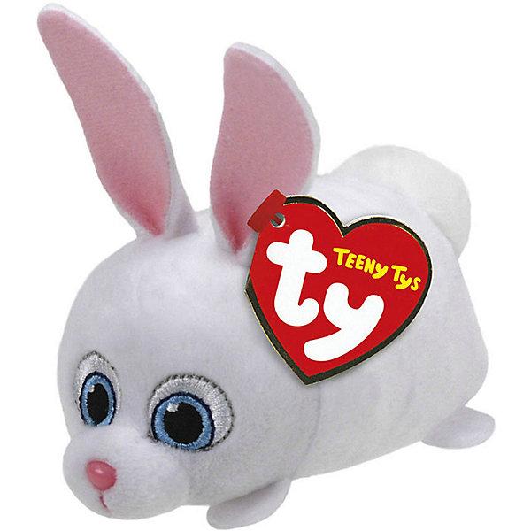 Мягкая игрушка Ty Inc Тайная жизнь домашних животных Кролик Снежок, 11 смМягкие игрушки из мультфильмов<br>Teeny Tys Кролик Снежок, герой м/ф Тайная жизнь домашних животных, 11х7х5см<br><br>Ширина мм: 70<br>Глубина мм: 50<br>Высота мм: 110<br>Вес г: 40<br>Возраст от месяцев: 36<br>Возраст до месяцев: 120<br>Пол: Унисекс<br>Возраст: Детский<br>SKU: 7322687