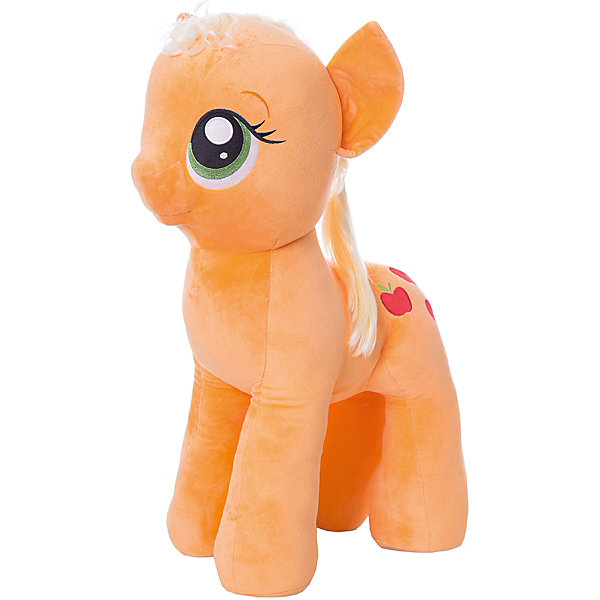 Мягкая игрушка Ty Inc My Little Pony Пони Эпплджек, 70 смМягкие игрушки из мультфильмов<br>Характеристики:<br><br>• возраст: от 3 лет;<br>• тип игрушки: мягкие игрушки;<br>• размер: 40х35х76 см;<br>• высота: 70 см;<br>• вес: 3,510 кг;<br>• материал: искусственный мех, синтепон;<br>• тип упаковки: ярлык;<br>• бренд: Ty.<br><br>Пони по имени Apple Jack из серии My Little Pony от бренда Ty станет отличным подарком для ребенка от трех лет и старше. Мягкая игрушка Эппл Джек никого не оставит равнодушными. Игрушка сделана по подобию одной из героинь популярного детского мультсериала «Мой маленький пони».<br>У пони большие, добрые глаза, мягкая плюшевая шерстка и длинные грива и хвост, которые можно причесывать. И, конечно же, отличительный персональный знак на левом боку в виде пары спелых яблочек. С такой игрушкой не захочется расставаться ни днем, ни ночью.<br><br>Игрушка изготовлена из качественных, нетоксичных материалов, абсолютно безопасных для здоровья малыша. Вместе с такой игрушкой у ребенка будет развиваться фантазия, аккуратность и чувство ответственности. <br><br>Пони по имени Apple Jack из серии My Little Pony от бренда Ty можно купить в нашем интернет-магазине.<br>Ширина мм: 400; Глубина мм: 350; Высота мм: 760; Вес г: 3510; Возраст от месяцев: 36; Возраст до месяцев: 120; Пол: Унисекс; Возраст: Детский; SKU: 7322691;