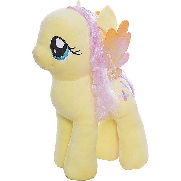Мягкая игрушка Ty Inc My Little Pony Пони Флаттершай, 70 смМягкие игрушки из мультфильмов<br>Характеристики:<br><br>• возраст: от 3 лет;<br>• тип игрушки: мягкие игрушки;<br>• размер: 40х35х76 см;<br>• высота: 70 см;<br>• вес: 3,650 кг;<br>• материал: искусственный мех, синтепон;<br>• тип упаковки: ярлык;<br>• бренд: Ty.<br><br>Пони по имени Fluttershy из серии My Little Pony от бренда Ty станет отличным подарком для ребенка от трех лет и старше. Мягкая игрушка Fluttershy никого не оставит равнодушными. Игрушка сделана по подобию одной из героинь популярного детского мультсериала «Мой маленький пони».<br>У пони большие, добрые глаза, мягкая плюшевая шерстка и длинные грива и хвост, которые можно причесывать. Так же у нее есть коричневые крылышки. И, конечно же, отличительный персональный знак на левом боку в виде пары спелых яблочек. С такой игрушкой не захочется расставаться ни днем, ни ночью.<br><br>Игрушка изготовлена из качественных, нетоксичных материалов, абсолютно безопасных для здоровья малыша. Вместе с такой игрушкой у ребенка будет развиваться фантазия, аккуратность и чувство ответственности. <br><br>Пони по имени Fluttershy из серии My Little Pony от бренда Ty можно купить в нашем интернет-магазине.<br>Ширина мм: 400; Глубина мм: 350; Высота мм: 760; Вес г: 3615; Возраст от месяцев: 36; Возраст до месяцев: 120; Пол: Унисекс; Возраст: Детский; SKU: 7322692;