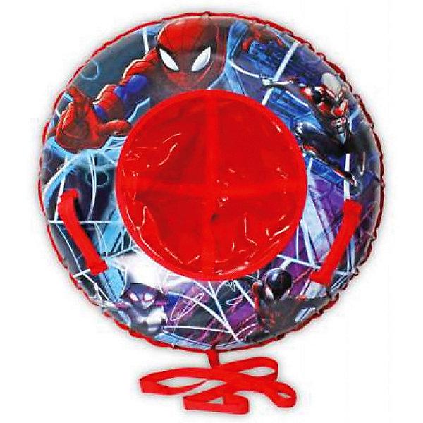 Тюбинг 1Toy Marvel Человек-паук, 100 смТюбинги<br>Характеристики:<br><br>• надувные сани для детей;<br>• особенности: тюбинг с двумя ручками;<br>• ручки пришиты к стропам;<br>• резиновая автокамера;<br>• идеальное скольжение;<br>• диаметр: 100 см;<br>• максимальная нагрузка: до 100 кг;<br>• имеется буксировочный трос;<br>• материал: глянцевый пвх 500 гр/кв.м;<br>• размер упаковки: 31,5х8,5х26 см;<br>• вес: 3,38 кг.<br><br>Прокатиться с горки на ватрушке – удовольствие и азарт в заснеженную пору. Тюбинг – это надувные сани с ручками. Ребенок садится на ватрушку как на санки, ручками держится за ручки тюбинга, мчится навстречу ветру и сугробам. Буксировочный трос позволяет вернуть тюбинг на исходную позицию на склоне, чтобы вновь скатиться вниз с радостным визгом. <br><br>Тюбинг Marvel «Человек-Паук» 100см, цветн.кор. можно купить в нашем интернет-магазине.<br><br>Ширина мм: 315<br>Глубина мм: 85<br>Высота мм: 260<br>Вес г: 3386<br>Возраст от месяцев: 36<br>Возраст до месяцев: 2147483647<br>Пол: Мужской<br>Возраст: Детский<br>SKU: 7322761