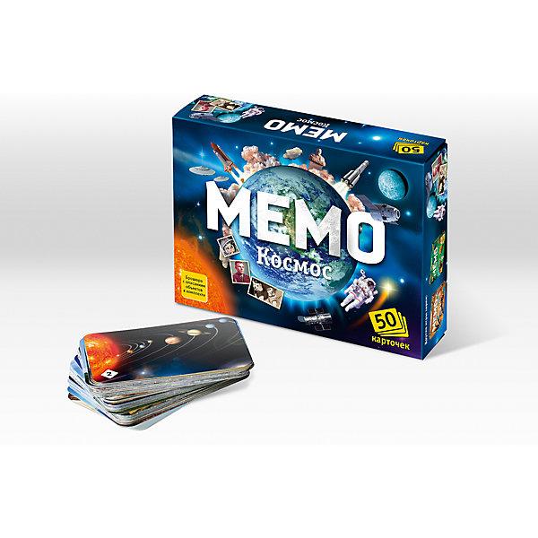 Мемо. КосмосИгры мемо<br>Характеристики:<br><br>• тип игрушки: настольная игра;<br>• комплектация: 50 карточек;<br>• возраст: от 5 лет;<br>• размер: 17x2,5x4 см; <br>•бренд: Бэмби;<br>• издатель: Нескучные игры;<br>• упаковка: картонная коробка;<br>• материал: картон.<br><br>Мемо «Космос» – действительно интересная и удивительно полезная игра. Она с лёгкостью поднимет настроение большой и маленькой компании. «Мемо» - одна из тех редких игр, где успех чаще зависит от способностей и стараний игрока, чем от удачи.  Игра состоит из карточек с парными изображениями. Всего 25 пар (50 карточек). Вы и не заметите, как запомните всё, что изображено на карточках. Это игра, безусловно, расширяет кругозор, развивает внимание, тренирует память.<br><br>Игра предназначена для космических исследователей разных возрастов. Благодаря буклету с описанием всех карточек, вы узнаёте о таинственном, и далёком космическом пространстве, удивительных планетах и ярких звёздах, кометах и метеоритах, о первых космонавтах и чудесной технике, созданной руками человека для покорения космоса.<br><br>Мемо «Космос»  можно купить в нашем интернет-магазине.<br><br>Ширина мм: 170<br>Глубина мм: 125<br>Высота мм: 40<br>Вес г: 152<br>Возраст от месяцев: 60<br>Возраст до месяцев: 2147483647<br>Пол: Унисекс<br>Возраст: Детский<br>SKU: 7323552
