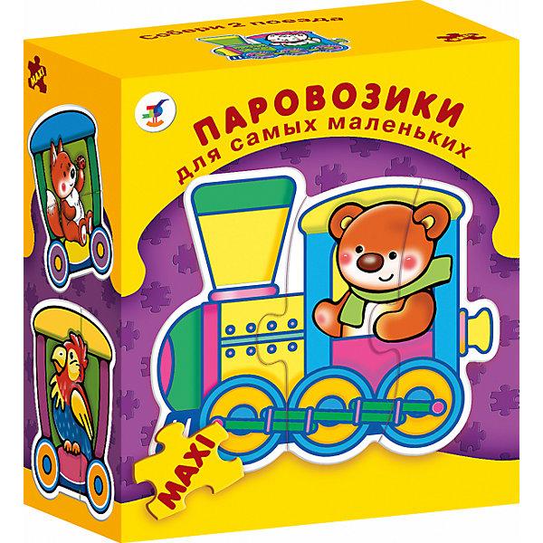ДСМ.ПаровозикиПазлы для малышей<br>Характеристики:<br><br>• тип игрушки: настольная игра;<br>• комплектация: восемь персонажей;<br>• возраст: от 3 лет;<br>• размер: 15,5x18х8,5 см;<br>• издатель: Дрофа;<br>• упаковка: картонная коробка;<br>• материал: картон.<br><br>Игра «ДСМ. Паровозики» совсем не сложная и в то же время очень увлекательная. Игра прекрасно подходит для первого знакомства ребенка с мозаикой, способствует формированию навыка соединения целого изображения из двух-трёх элементов.<br>В игре набор из восьми персонажей разных симпатичных паровозиков с животными внутри, состоящих из крупных деталей, которые соединяются с помощью пазлового замка. Игры этой серии помогают в развитии зрительного восприятия, мелкой моторики и координации движений рук, наглядно-образного мышления, памяти и внимания.<br><br>Игру «ДСМ. Паровозики» можно купить в нашем интернет-магазине.<br>Ширина мм: 155; Глубина мм: 180; Высота мм: 85; Вес г: 175; Возраст от месяцев: 36; Возраст до месяцев: 2147483647; Пол: Унисекс; Возраст: Детский; SKU: 7323567;