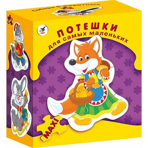 ДСМ.ПотешкиПазлы для малышей<br>Характеристики:<br><br>• тип игрушки: настольная игра;<br>• комплектация: восемь персонажей;<br>• возраст: от 3 лет;<br>• размер: 15,5x18х8,5 см;<br>• издатель: Дрофа;<br>• упаковка: картонная коробка;<br>• материал: картон.<br><br>Игра «ДСМ. Потешки» совсем не сложная и в то же время очень увлекательная. В комплект игры входит восемь рамок с изображением разных животных, разделённых на части. Игра формирует навыки соединения деталей, развивает мелкую моторику рук и наглядно-образное мышление.<br><br>Для начала нужно показать ребенку, как сложить фигурки из нескольких частей. А затем пусть он попробует сделать это самостоятельно. Объясните, как можно собрать фигурку внутри рамки. Когда ребёнок научится собирать одну фигурку, предложите ему собрать сразу несколько. В результате дети научатся собирать фигурки, самостоятельно подбирая нужные детали. Фигурки состоят из двух-трёх элементов.<br><br>Игру «ДСМ. Потешки» можно купить в нашем интернет-магазине.<br>Ширина мм: 155; Глубина мм: 180; Высота мм: 85; Вес г: 170; Возраст от месяцев: 36; Возраст до месяцев: 2147483647; Пол: Унисекс; Возраст: Детский; SKU: 7323569;