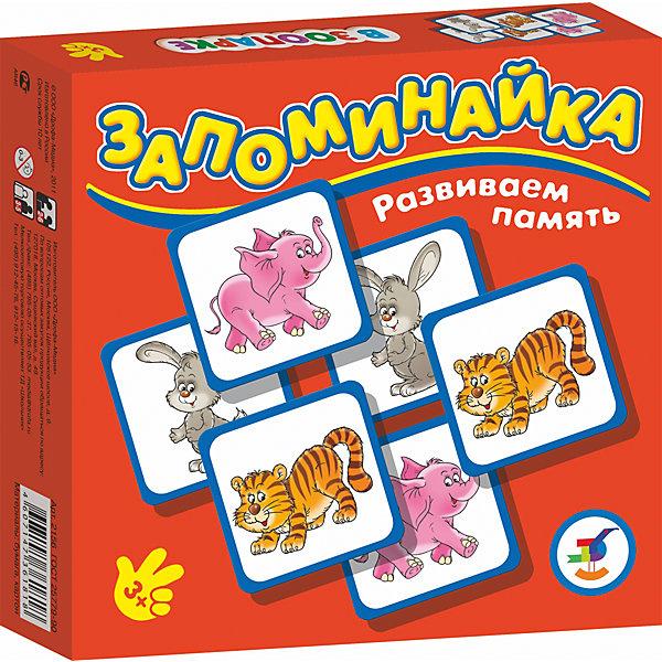Запоминайка. В зоопаркеИгры мемо<br>Характеристики:<br><br>• тип игрушки: настольная игра;<br>• комплектация: 25 карточек, правила;<br>• возраст: от 3 лет;<br>• размер: 16,5x16,5х3 см;<br>• издатель: Дрофа;<br>• упаковка: картонная коробка;<br>• материал: картон.<br><br>Игра «Запоминайка. В зоопарке» совсем не сложная и в то же время очень увлекательная. В комплект игры входит двадцать пять карточек с изображением разных животных из зоопарка. Игра формирует навыки соединения деталей, развивает мелкую моторику рук и наглядно-образное мышление. Тренирует зрительную память.<br><br>Игры серии основаны на известном принципе «Memory» и направлены на развитие внимания и памяти. Перед игроками изображением вниз разложены карточки. Задача игроков - по очереди открывать и закрывать по две карточки, стараясь найти одинаковые. Яркие, крупные карточки и забавные картинки делают игру привлекательной даже для самых маленьких детей.<br><br>Игру «Запоминайка. В зоопарке» можно купить в нашем интернет-магазине.<br><br>Ширина мм: 165<br>Глубина мм: 165<br>Высота мм: 30<br>Вес г: 170<br>Возраст от месяцев: 36<br>Возраст до месяцев: 2147483647<br>Пол: Унисекс<br>Возраст: Детский<br>SKU: 7323571