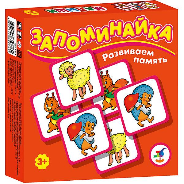 Запоминайка. МалышиИгры мемо<br>Характеристики:<br><br>• тип игрушки: настольная игра;<br>• комплектация: 25 карточек, правила;                                                                <br>• возраст: от 3 лет;<br>• размер: 16,5x16,5х3 см;<br>• издатель: Дрофа;<br>• упаковка: картонная коробка;<br>• материал: картон.<br><br>Игра «Запоминайка. Малыши» совсем не сложная и в то же время очень увлекательная. В комплект игры входит двадцать пять карточек с изображением разных маленьких животных. Игра формирует навыки соединения деталей, развивает мелкую моторику рук и наглядно-образное мышление. Тренирует зрительную память.<br>Игры серии основаны на известном принципе «Memory»  и направлены на развитие внимания и памяти. Перед игроками изображением вниз разложены карточки. <br><br>Задача игроков - по очереди открывать и закрывать по две карточки, стараясь найти одинаковые. Яркие, крупные карточки и забавные картинки делают игру привлекательной даже для самых маленьких детей.<br><br>Игру «Запоминайка. Малыши» можно купить в нашем интернет-магазине.<br>Ширина мм: 165; Глубина мм: 165; Высота мм: 30; Вес г: 145; Возраст от месяцев: 36; Возраст до месяцев: 2147483647; Пол: Унисекс; Возраст: Детский; SKU: 7323572;