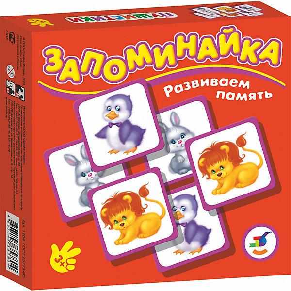 Запоминайка. ПушистикиИгры мемо<br>Характеристики:<br><br>• тип игрушки: настольная игра;<br>• комплектация: 25 карточек, правила;<br>• возраст: от 3 лет;<br>• размер: 16,5x16,5х3 см;<br>• издатель: Дрофа;<br>• упаковка: картонная коробка;<br>• материал: картон.<br><br>Игра «Запоминайка. Пушистики» совсем не сложная и в то же время очень увлекательная. В комплект игры входит двадцать пять карточек с изображением разных маленьких животных из мира дикой природы. Игра формирует навыки соединения деталей, развивает мелкую моторику рук и наглядно-образное мышление. Тренирует зрительную память.<br><br>Игры серии основаны на известном принципе «Memory» и направлены на развитие внимания и памяти. Перед игроками изображением вниз разложены карточки. Задача игроков - по очереди открывать и закрывать по две карточки, стараясь найти одинаковые. Яркие, крупные карточки и забавные картинки делают игру привлекательной даже для самых маленьких детей.<br><br>Игру «Запоминайка. Пушистики» можно купить в нашем интернет-магазине.<br>Ширина мм: 165; Глубина мм: 165; Высота мм: 30; Вес г: 150; Возраст от месяцев: 36; Возраст до месяцев: 2147483647; Пол: Унисекс; Возраст: Детский; SKU: 7323575;