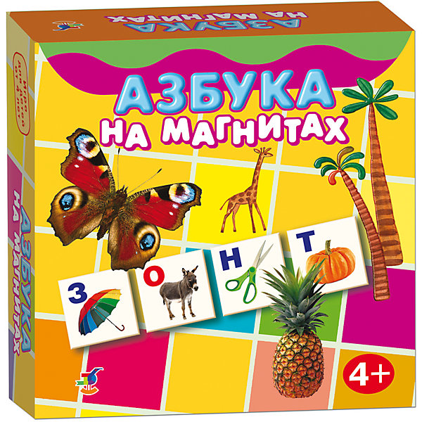 Магнит в коробке. Азбука на магнитахКасса букв<br>Характеристики:<br><br>• тип игрушки: магнитная;<br>• комплектация: 96 карточек;<br>• возраст: от 4 лет;<br>• размер: 18x18х3 см;<br>• издатель: Дрофа;<br>• упаковка: картонная коробка;<br>• материал: магнит, картон.<br><br>Игра «Магнит в коробке. Азбука на магнитах» совсем не сложная и в то же время очень увлекательная. В комплект игры входит 96 карточек с тематическими изображениями. Игра представляет собой готовые к использованию, разрезанные карточки с приклеенными сзади магнитами, которые можно прикрепить на холодильник или магнитную доску.<br><br>Азбука знакомит с буквами и звуками, учит определять первый звук в слове, читать и составлять слова, развивает наблюдательность и внимание, может стать прекрасным методическим пособием как для родителей, так и для воспитателей и учителей.<br><br>Игру «Магнит в коробке. Азбука на магнитах» можно купить в нашем интернет-магазине.<br>Ширина мм: 180; Глубина мм: 180; Высота мм: 40; Вес г: 170; Возраст от месяцев: 48; Возраст до месяцев: 2147483647; Пол: Унисекс; Возраст: Детский; SKU: 7323592;