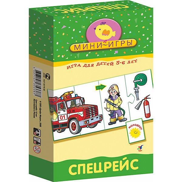 МИ. СпецтранспортОбучающие карточки<br>Характеристики:<br><br>• тип игрушки: настольная;<br>• комплектация: 36 карточек, правила;                                                                <br>• возраст: от 5 лет;<br>• размер: 12x20х3,5 см;<br>• издатель: Дрофа;<br>• упаковка: картонная коробка;<br>• материал: картон.<br><br>Игра «МИ. Спецтанспорт» совсем не сложная и в то же время очень увлекательная. В комплект игры входит 36 карточек и правила. Игра представляет собой готовые к использованию, разрезанные карточки с пояснениями на обратной стороне. <br>Игра знакомит с профессиями врача, милиционера, пожарного, спасателя, тележурналиста. В процессе игры у детей совершенствуется быстрота реакции, формируется чувство ответственности и долга. <br><br> Все материалы, из которых изготовлены карточки, являются гипоаллергенными и прошли все необходимые для детских игрушек проверки на соответствие стандартам качества. <br><br>Игру «МИ. Спецтранспорт» можно купить в нашем интернет-магазине.<br><br>Ширина мм: 120<br>Глубина мм: 200<br>Высота мм: 35<br>Вес г: 170<br>Возраст от месяцев: 60<br>Возраст до месяцев: 2147483647<br>Пол: Унисекс<br>Возраст: Детский<br>SKU: 7323615