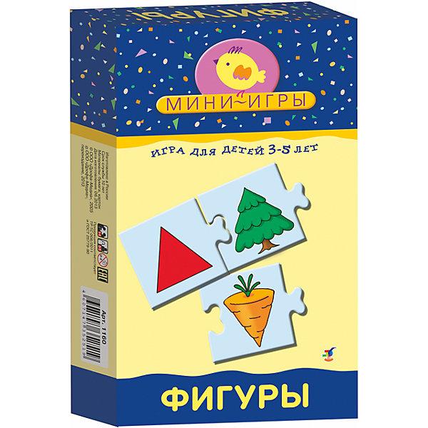 МИ. Фигуры.Обучающие карточки<br>Характеристики:<br><br>• тип игрушки: настольная;<br>• комплектация: 24 карточки, правила;                                                                <br>• возраст: от 3 лет;<br>• размер: 12x20х3,5 см;<br>• издатель: Дрофа;<br>• упаковка: картонная коробка;<br>• материал: картон.<br><br>Игра «МИ. Фигуры» совсем не сложная и в то же время очень увлекательная. В комплект игры входит 24 карточки и правила. Игра представляет собой готовые к использованию, разрезанные карточки с пояснениями на обратной стороне. <br>Игра знакомит с основными геометрическими фигурами, учит определять форму предметов, развивает воображение, математические способности и мелкую моторику рук.<br><br> Все материалы, из которых изготовлены карточки, являются гипоаллергенными и прошли все необходимые для детских игрушек проверки на соответствие стандартам качества. <br><br>Игру «МИ. Фигуры» можно купить в нашем интернет-магазине.<br>Ширина мм: 120; Глубина мм: 200; Высота мм: 35; Вес г: 135; Возраст от месяцев: 36; Возраст до месяцев: 2147483647; Пол: Унисекс; Возраст: Детский; SKU: 7323621;